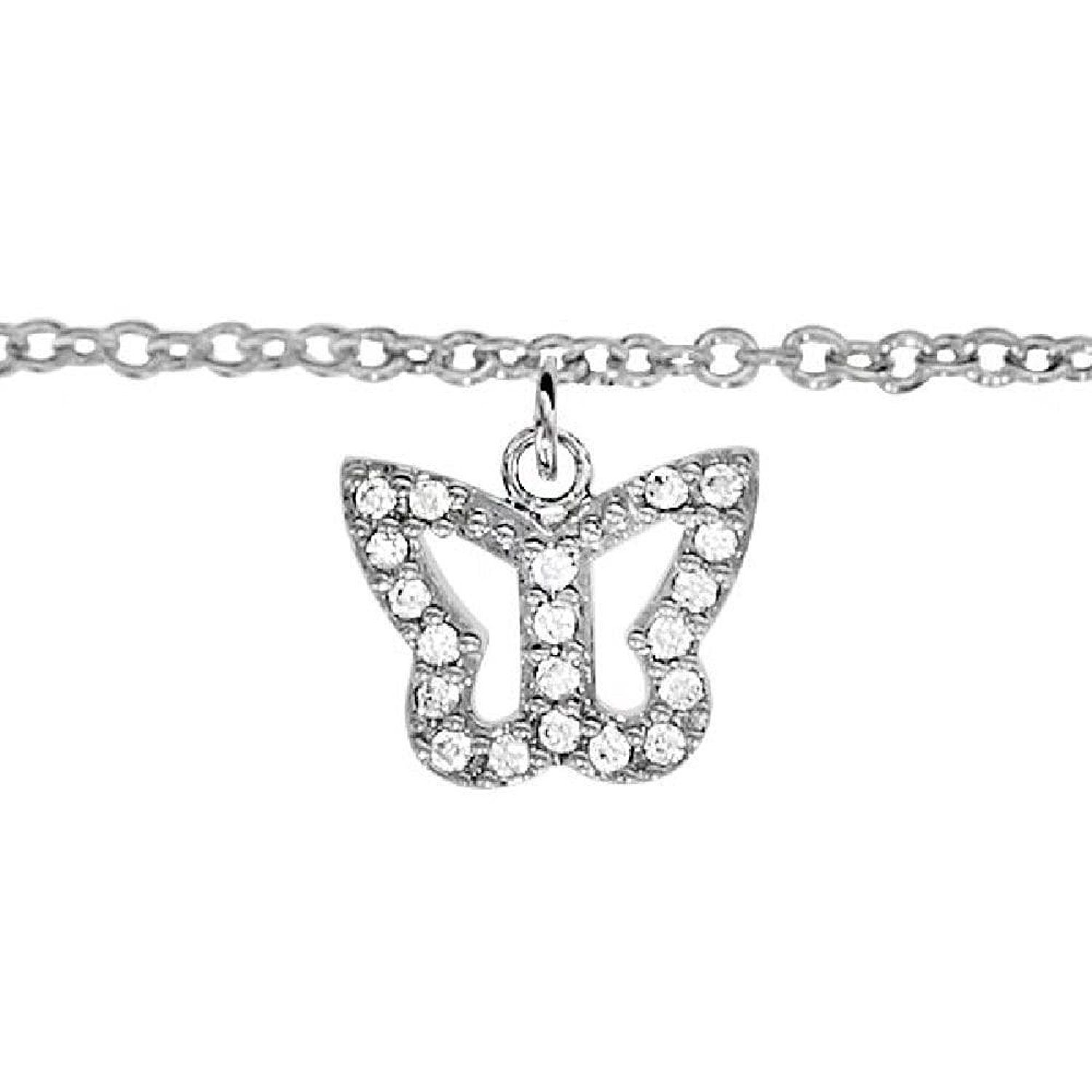 zirconia link wt make statement from a cz round with silver thailand details cubic accents products anklets ca anklet beautiful sterling crafted cute this features aeravida white