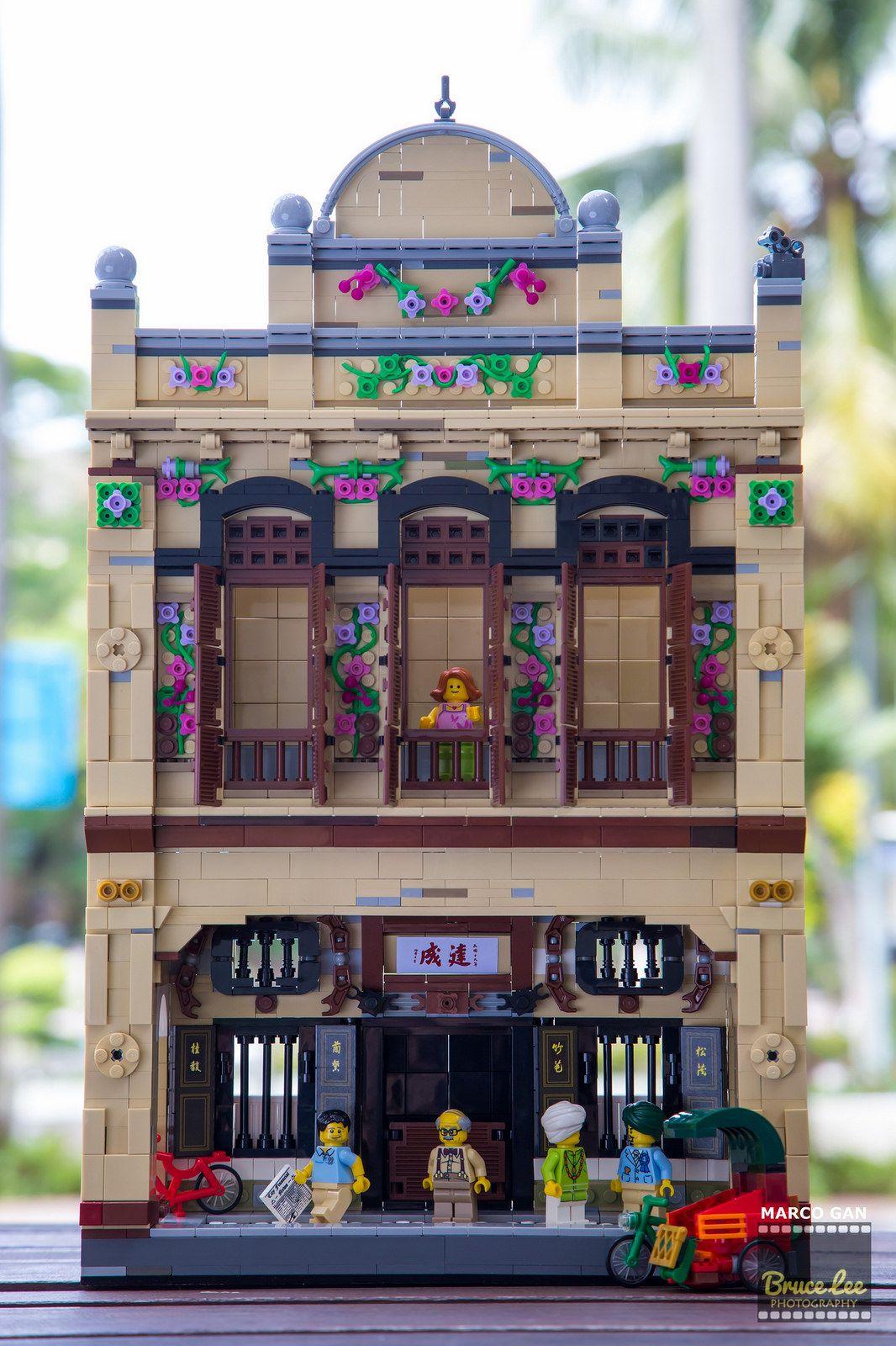 Muar 1930 Heritage Street House1 Lego Budowanie Lego House