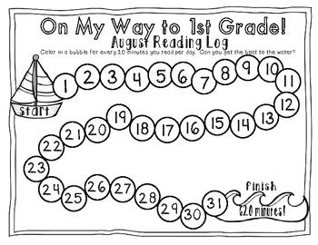 Summer Review Packet {Kindergarten Math & Literacy