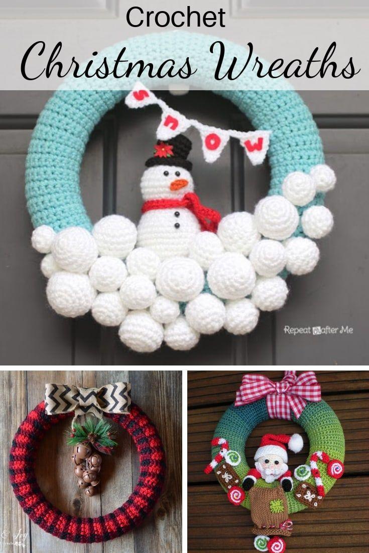 Photo of 10 Amazing Crochet Christmas Wreath Patterns