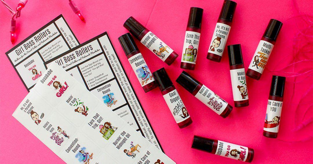 Girl Boss Rollers Rollerball Blend Kit Essential oils