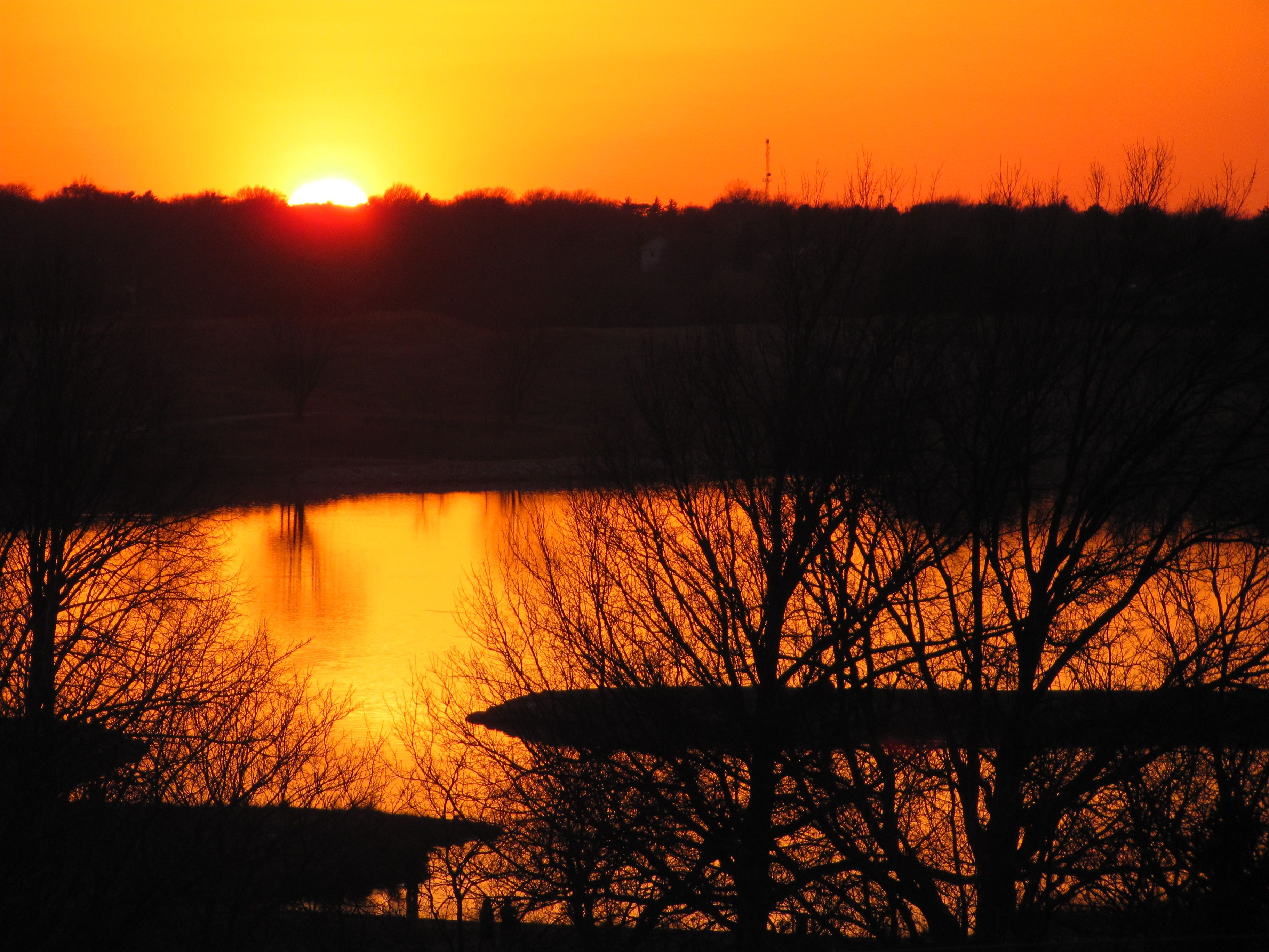 Sunset March 12 2012