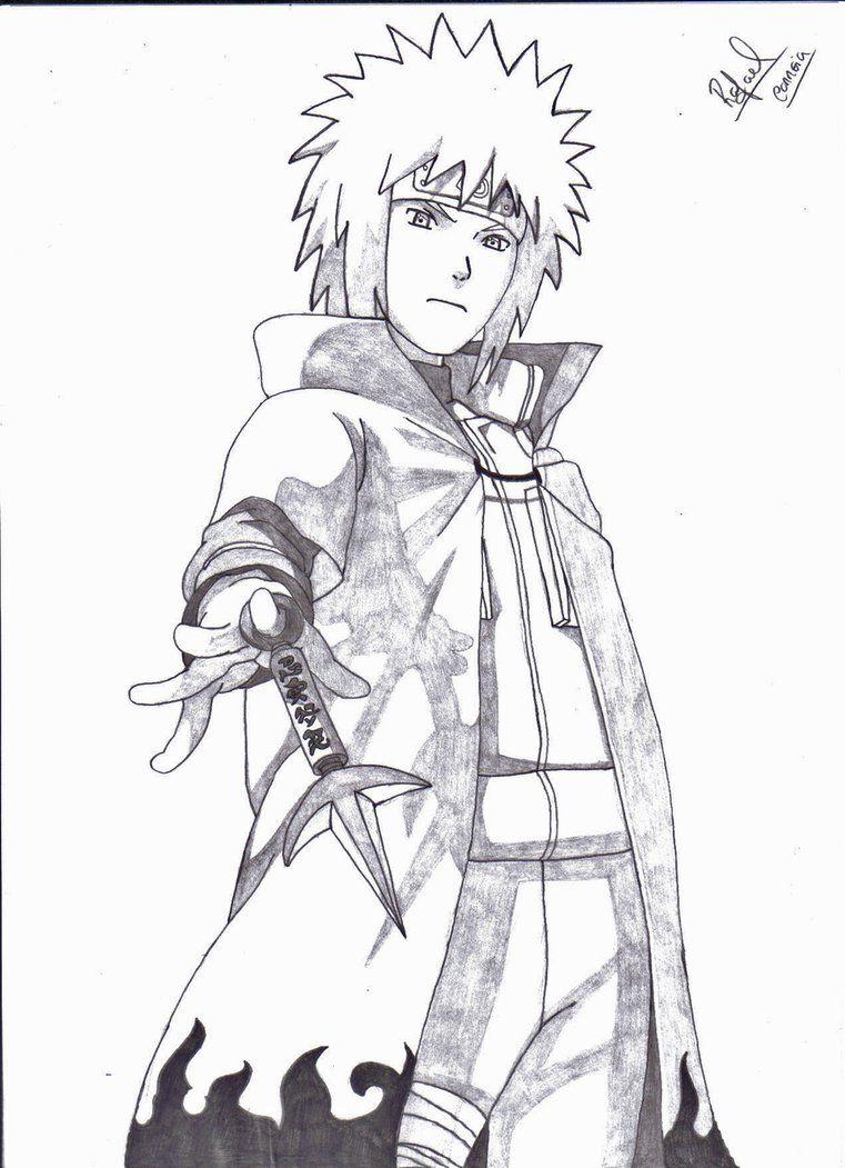 Minato namikaze sketch by ruledragon minato namikaze the