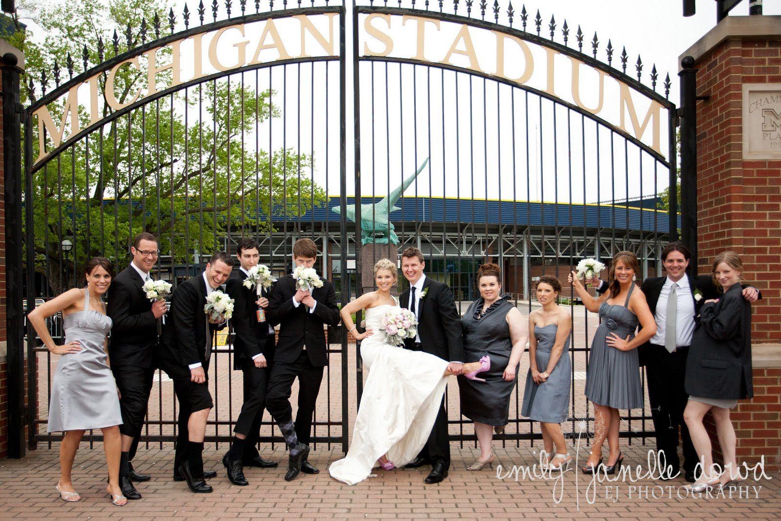 Ann Arbor Wedding Venues Michigan Stadium U of M