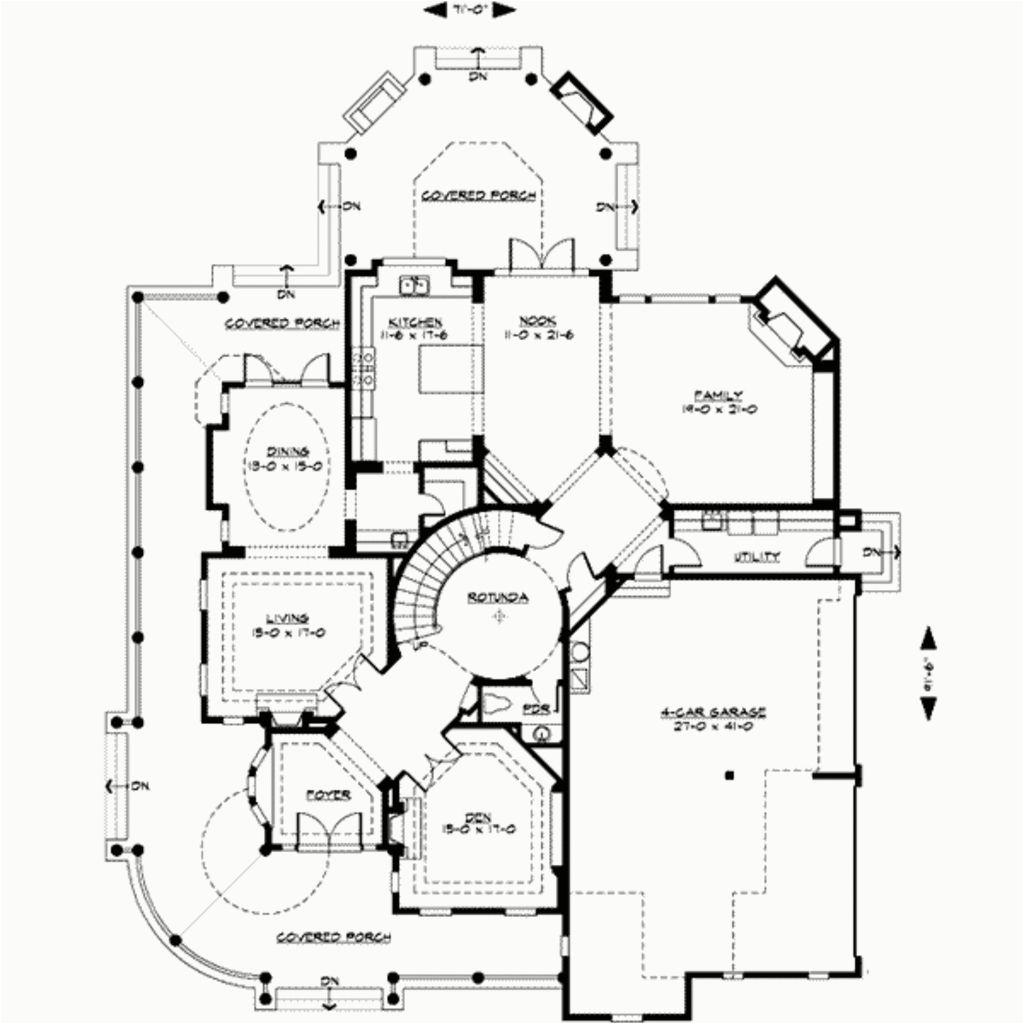 Awesome 8 Bedroom Victorian House Plans Denah Rumah Desain Rumah Arsitektur