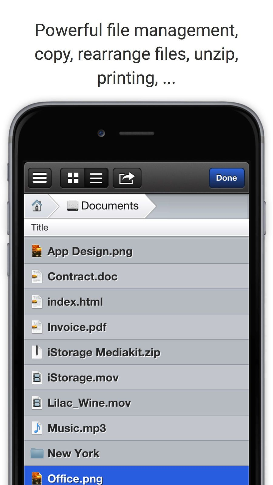 iStorage 2 HD for FTP, WebDAV, Dropbox, MS Skydrive and