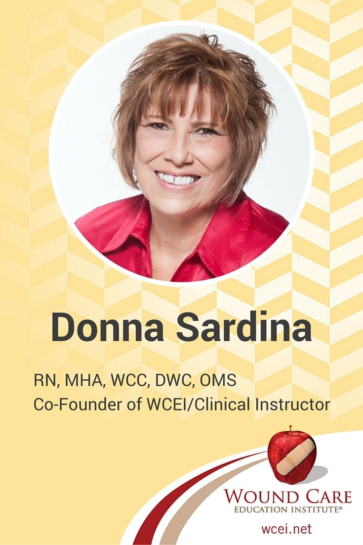 Donna sardina has 30 years of nursing experience an extensive find this pin and more on wound care certification by lanern68 1betcityfo Choice Image