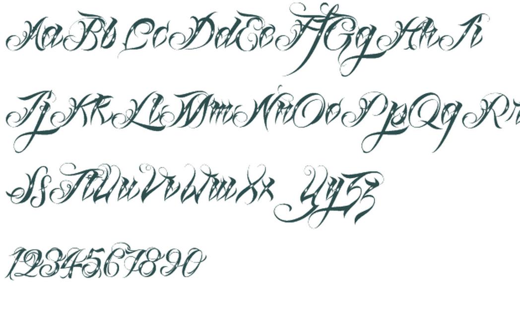 Resultado de imagen para tattoos de letras mexicanas