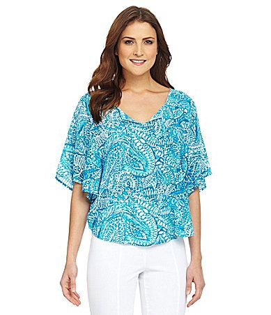 Westbound Capelet Blouse