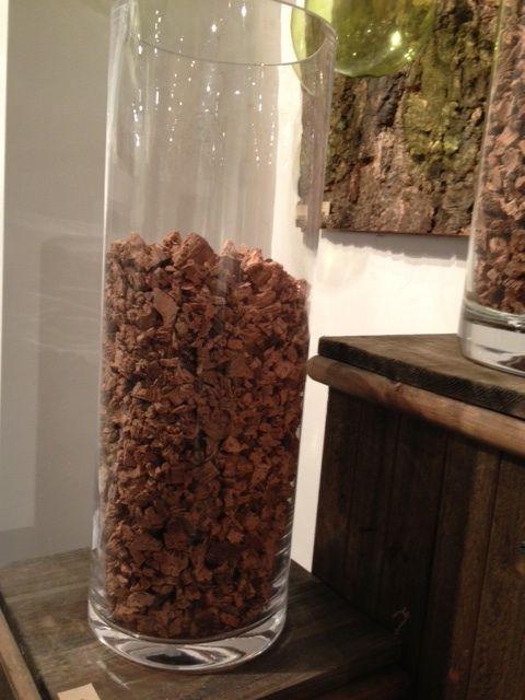 Broken Raw Cork Vase Filler Something A Little More Practical And