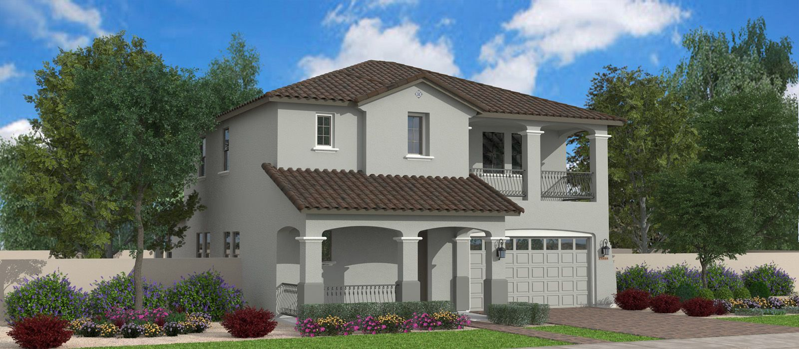 The Greyhound is 2752 square feet, two story, 3 car garage