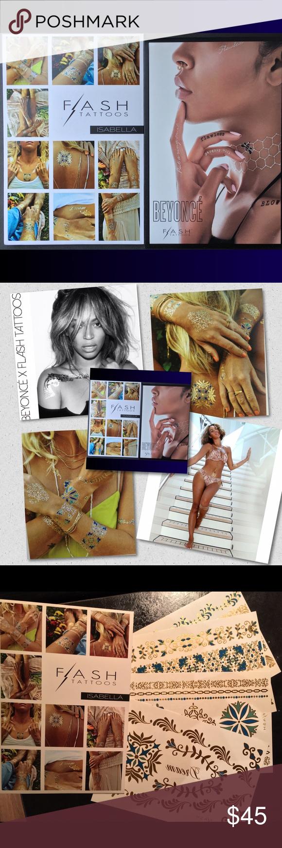 SOLD!! Beyoncé/Isabella Bundle of Flash Tats; | Flash tats ...