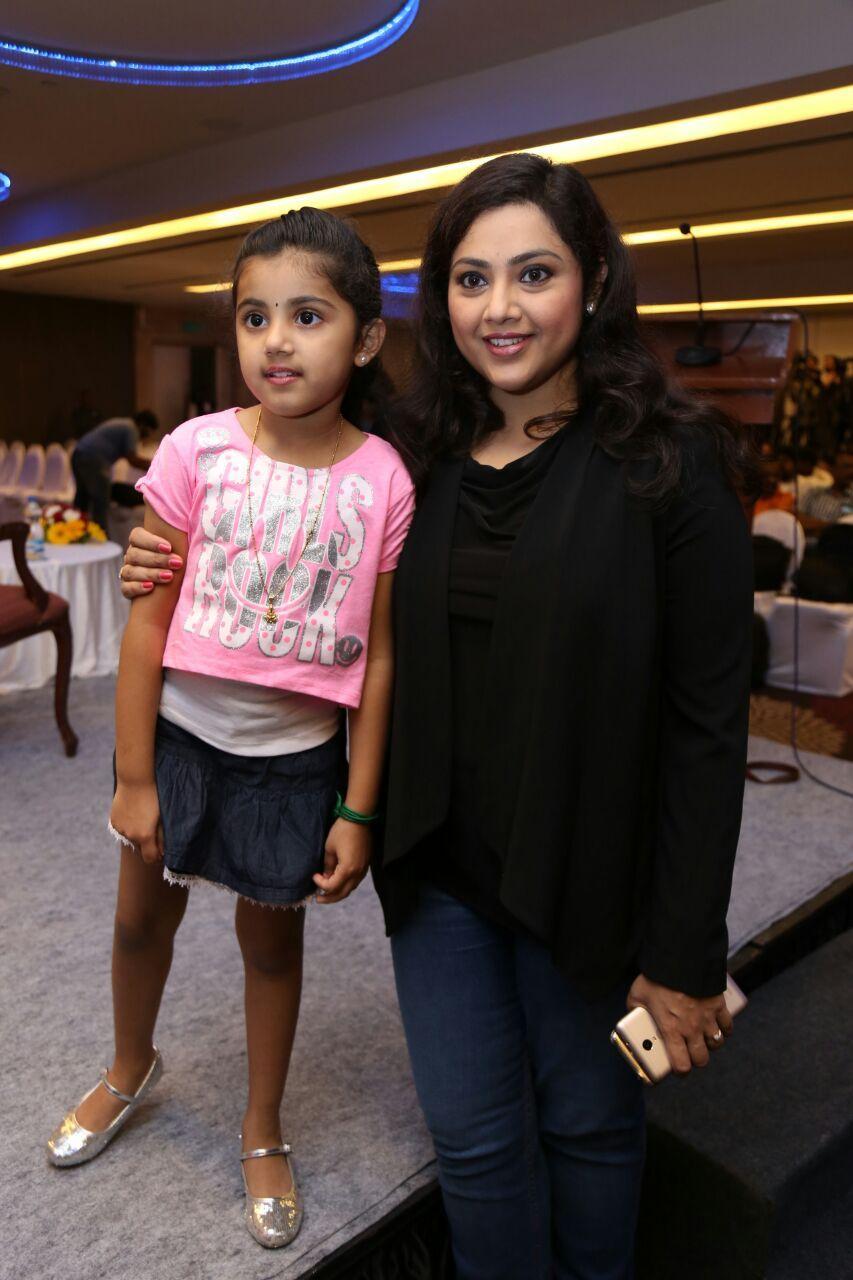 Stills of Baby Nainika at Theri press meet Theri