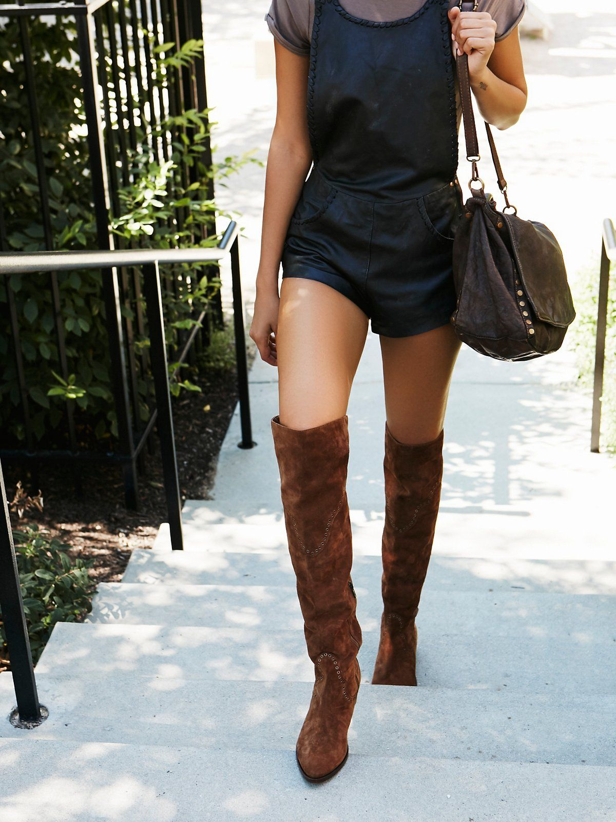 5777103258b Cara Eyelet Over The Knee Boot