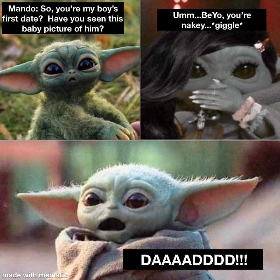 Pin By Aly On Baby Yoda Star Wars Humor Star Wars Pictures Funny Pictures
