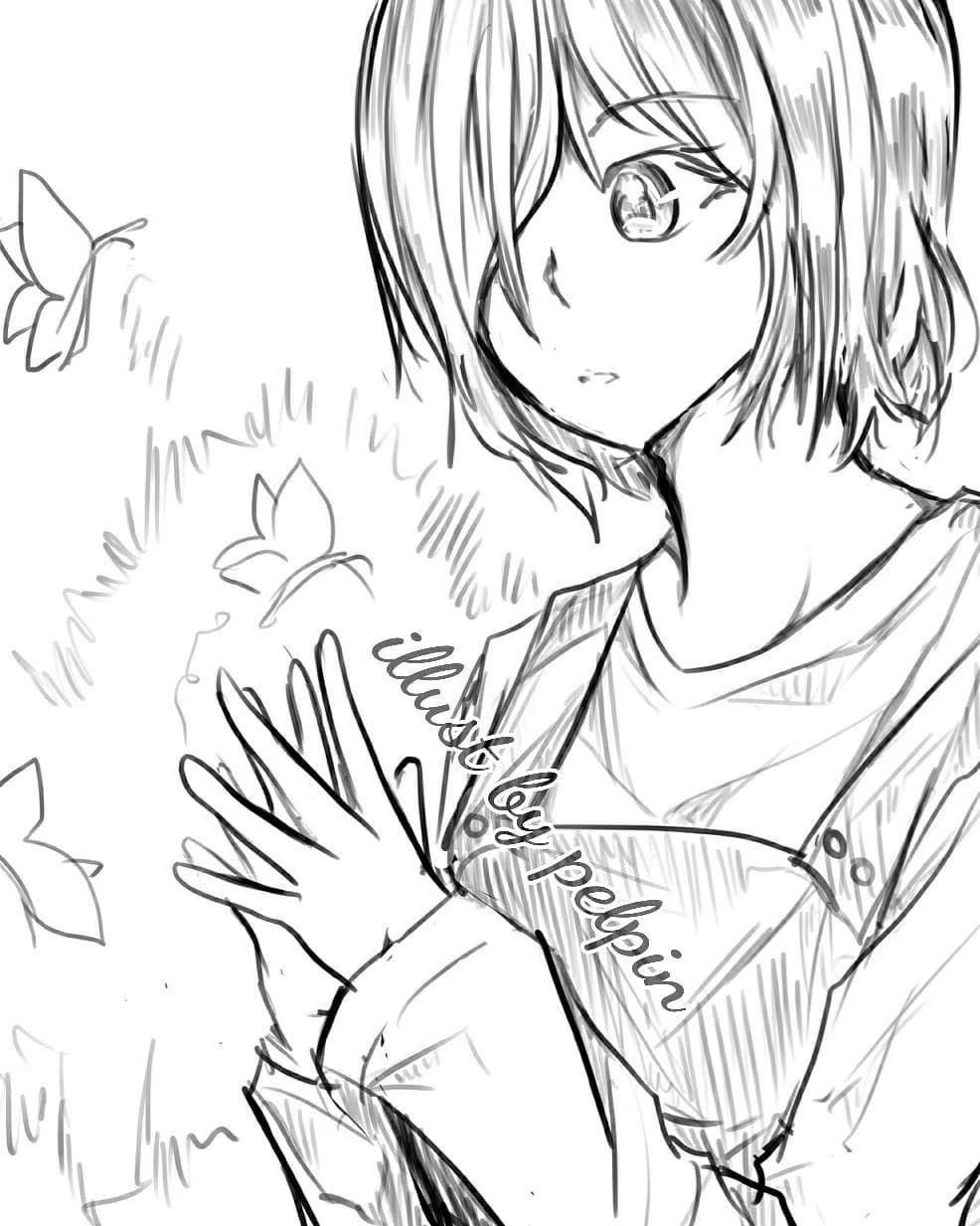 Digital Draw Touka Kirishima Tokyo Ghoul Touka Toukakirishima Tokyoghoul Tokyoghoulre Kirishima Ghoul Digitalart Digitaldrawing Digitaldraw Manga