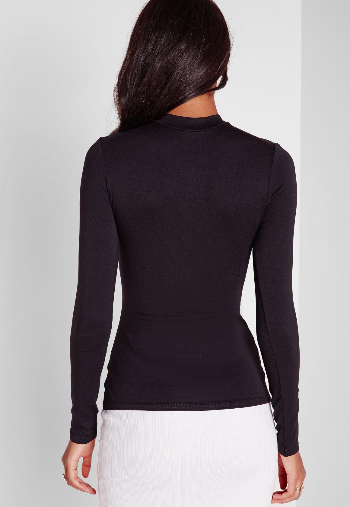 75142fff9f66ed Black Long Sleeve Turtle Neck Top  Sponsored  Sleeve