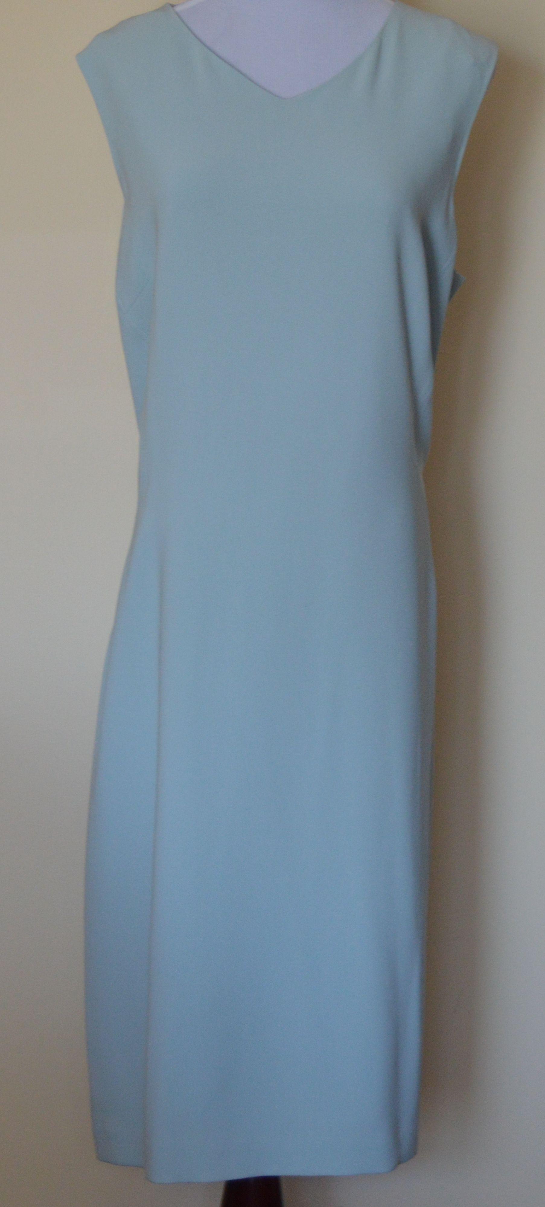 Talbots dresses for weddings  Talbots  Woven Matte Jersey Dress  Glacier Mint  Dianeus Dresses