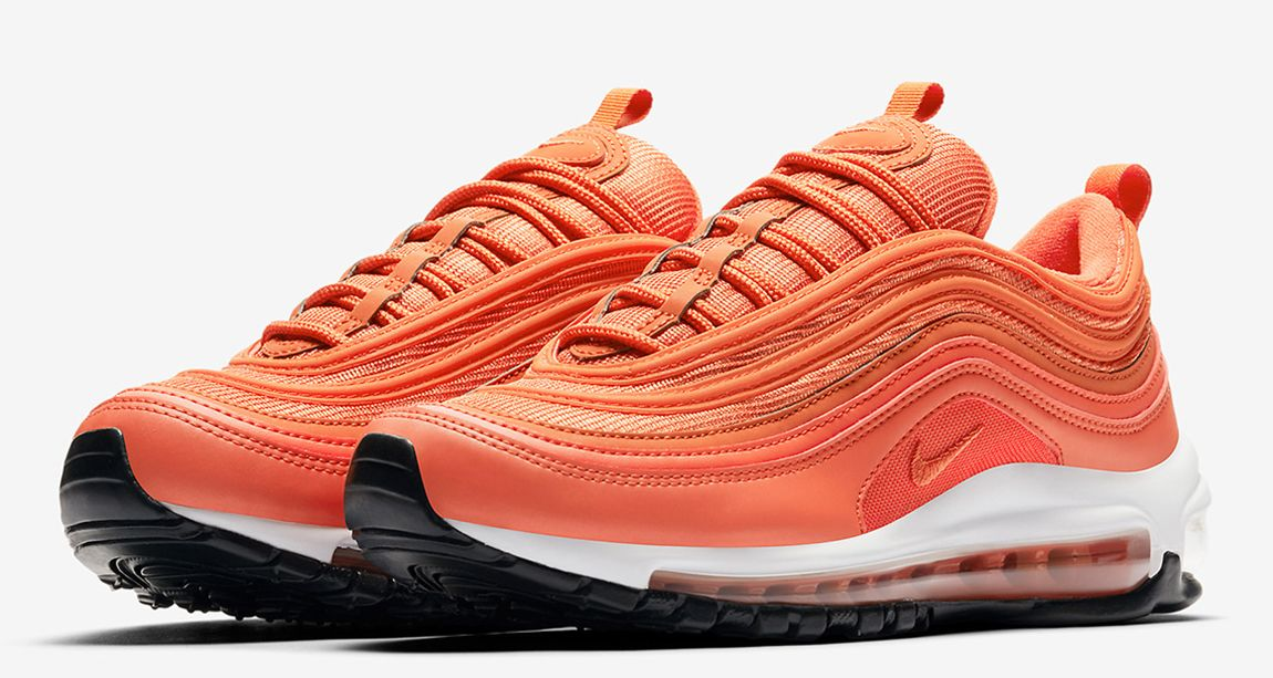 Nike Air Max 97 Safety Orange April 2018 With Images Nike