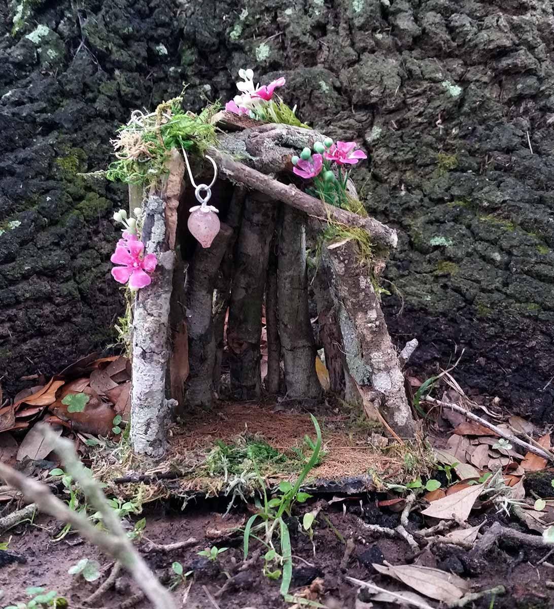 Fairy House, Outdoor Fairy House, Fairy Garden House, Terrarium House,  Gnome House, Terrarium Kit, Miniature Fairy House, Fairy Garden Home