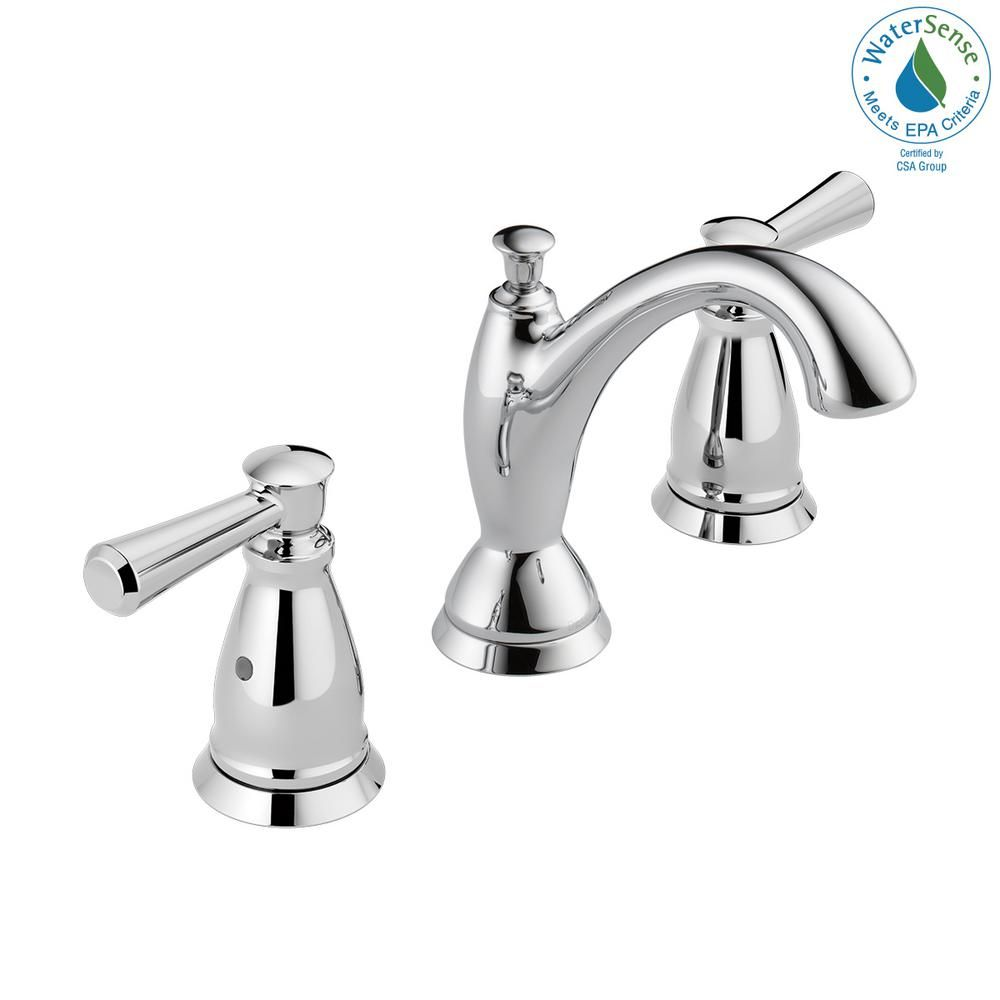 Delta Linden 8 In Widespread 2 Handle Bathroom Faucet In Chrome