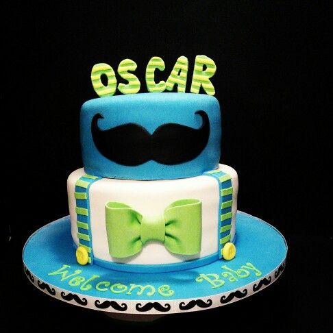 Little Man Baby Shower Cake More