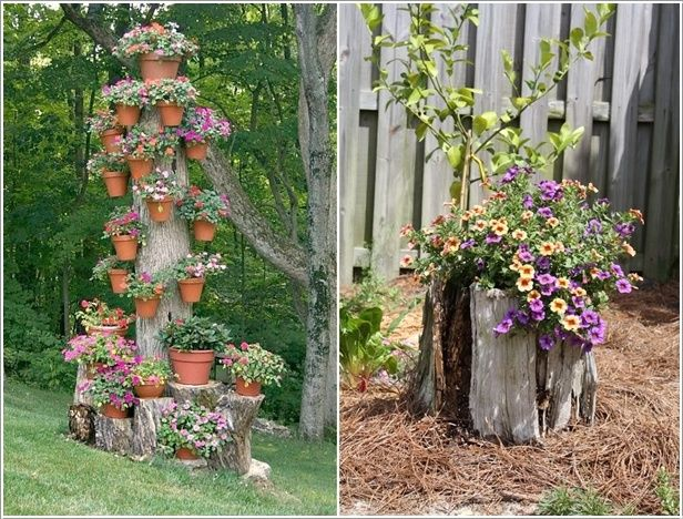 Ideas How To Decorate Your Garden With Tree Stumps :: Home design ideas,DIY  Creative Ideas, Craft Ideas,Art Design