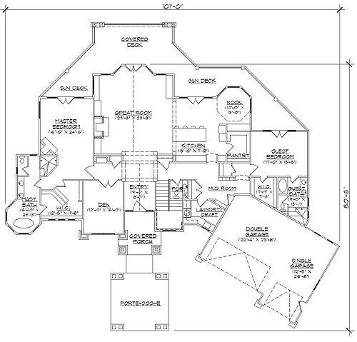 Rambler floor plans professional house floor plans for Rambler floor plan