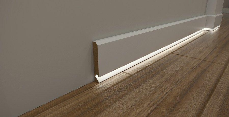Biale Listwy Przypodlogowe Do Podlog Led Tanie Cokoly Mdf Home Lighting Design Lighting Design Interior Ceiling Light Design