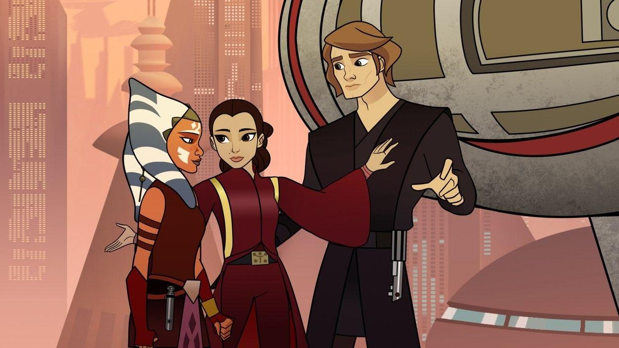 Forces of destiny Ahsoka Padme Anakin   Star Wars   Rogue