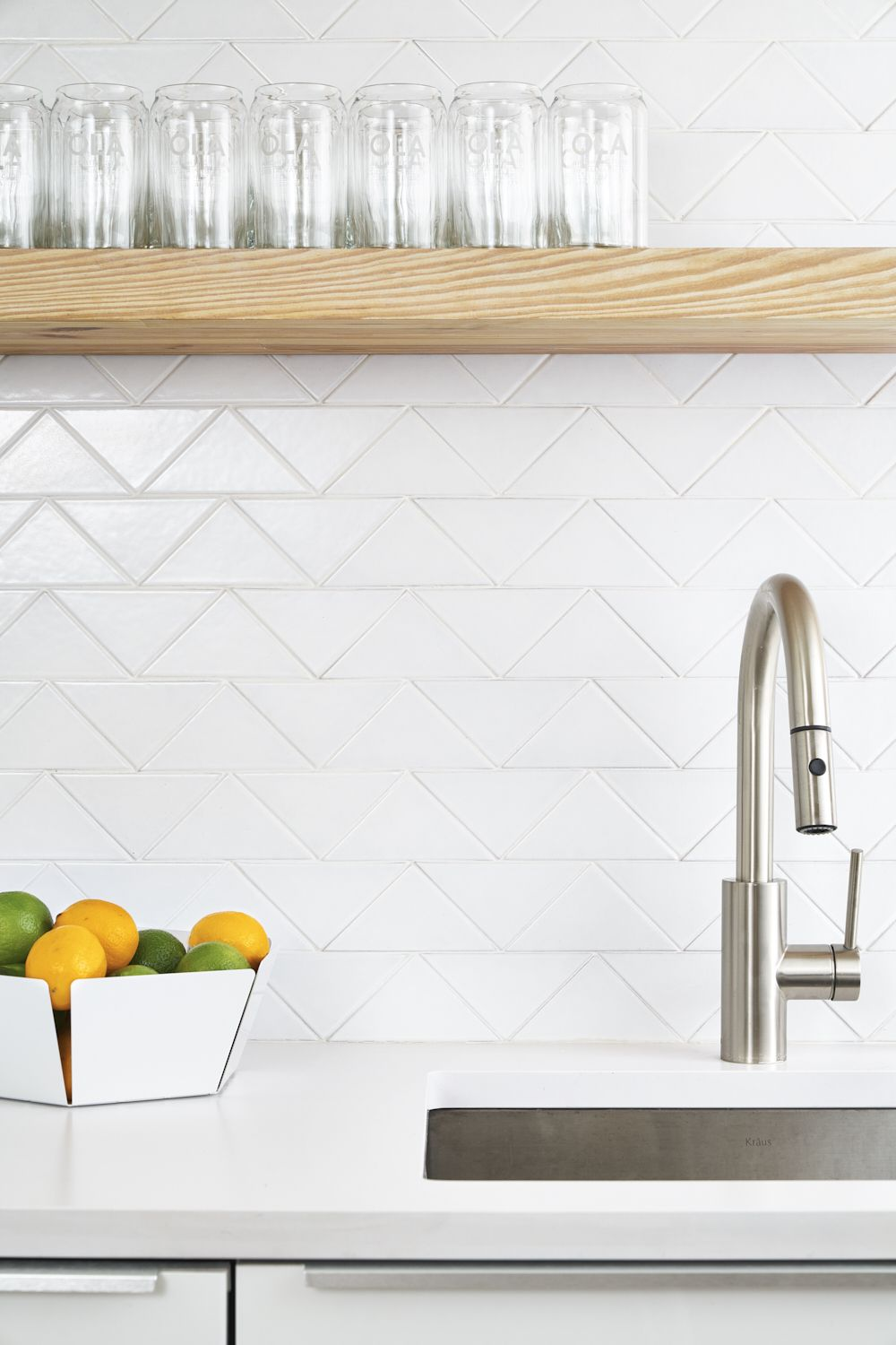 Tile School The Top Five Things You Should Know About Grout White Kitchen Tiles Fireclay Tile Handmade Tile Kitchen
