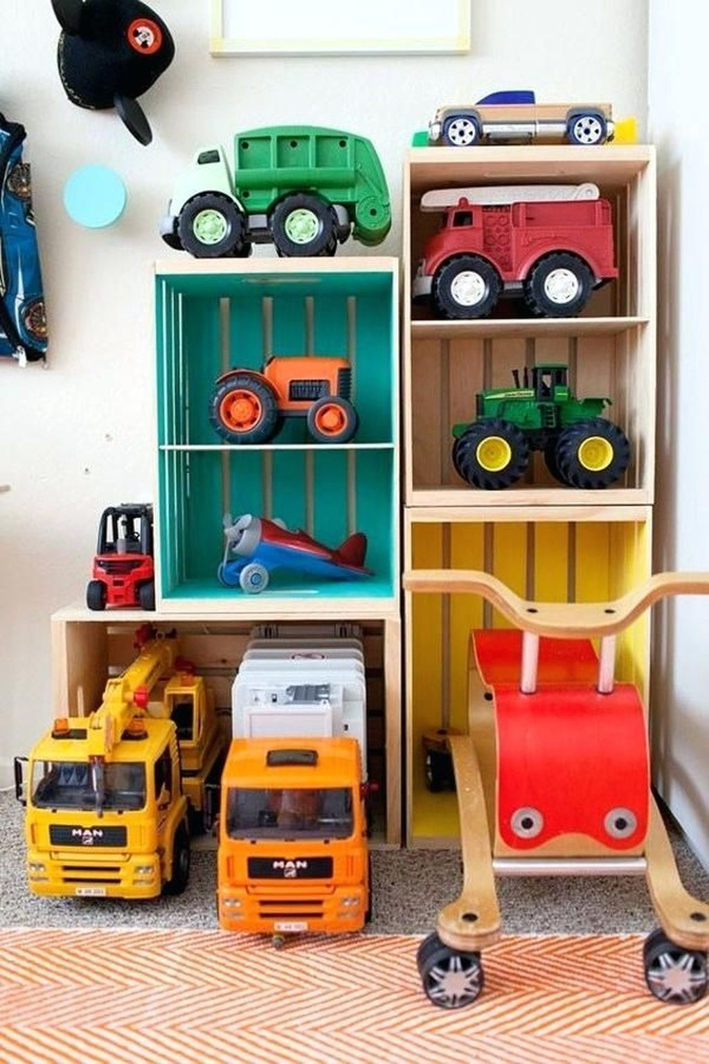 20 Brilliant Toy Storage Ideas For Small Space Playroom