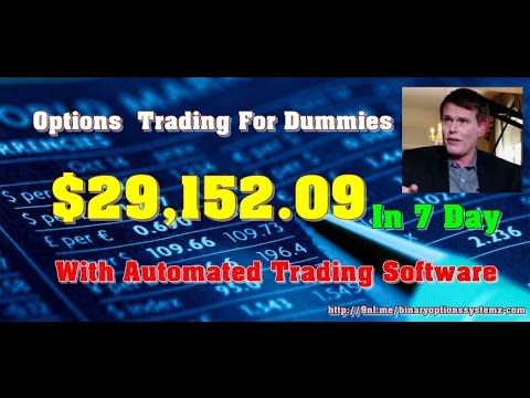 For dummies options trade