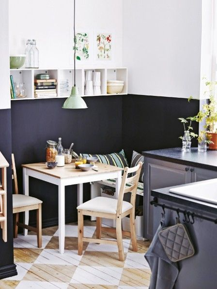 8 einrichtungsideen f r kleine r ume wohnen. Black Bedroom Furniture Sets. Home Design Ideas