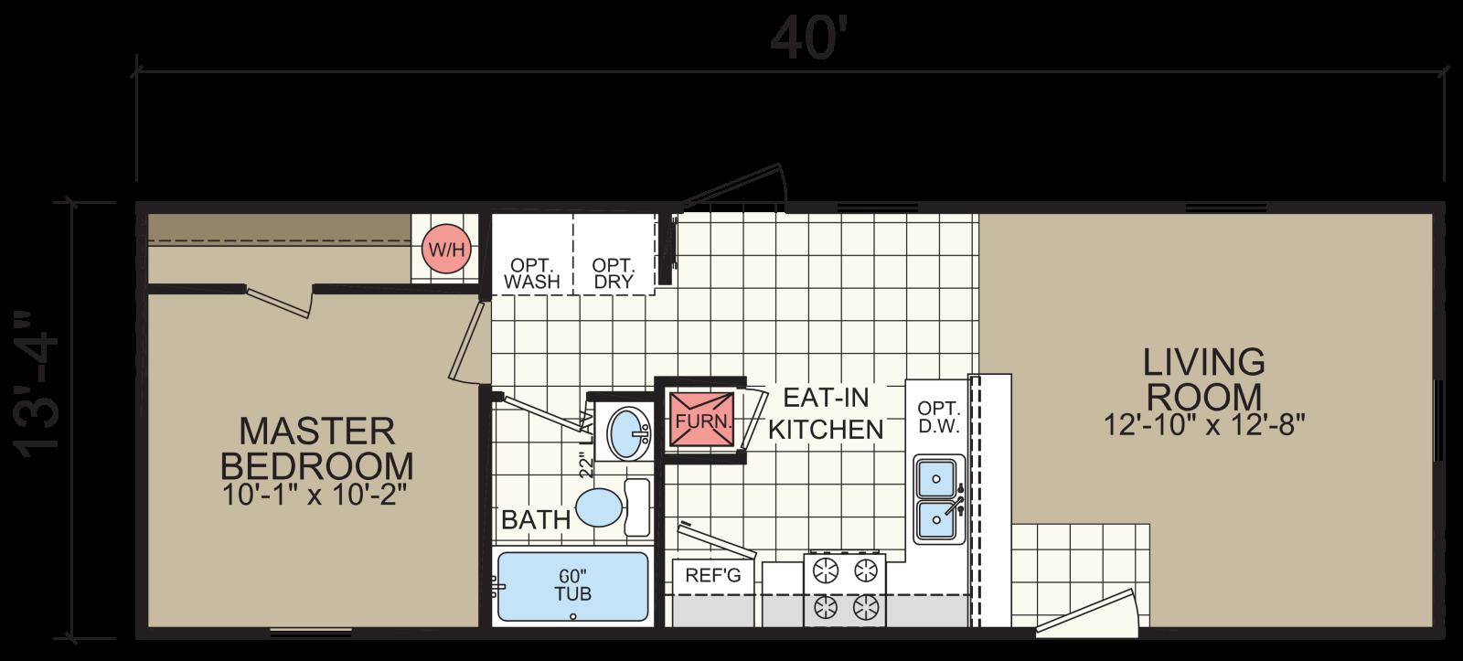 Advantage 1444 201 Redman Homes Indiana
