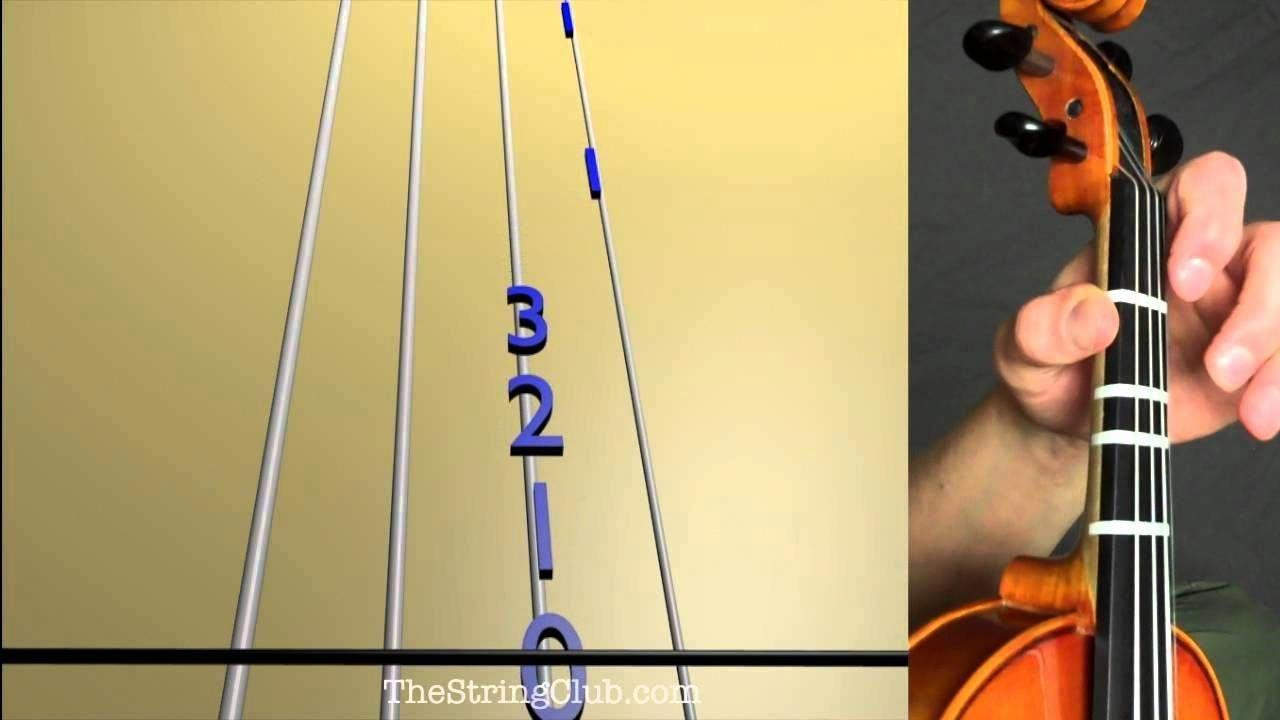 StringClub Full Size Viola Fingerboard Tapes