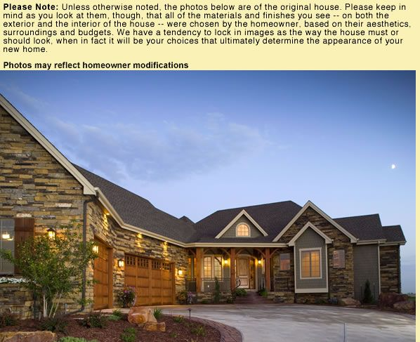 L Shaped House With Attached Garage House Plan