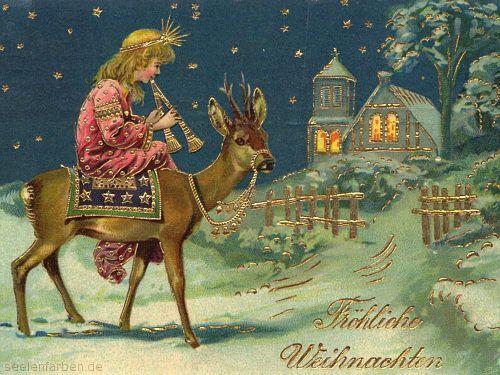Seelenfarben Weihnachten.Digitale Postkarten Von Seelenfarben Occasions Vintage Christmas