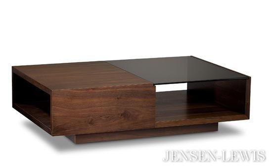Ufficio Moderno Xela : Bdi xela small rectangle coffee table 1142 for the home pinterest