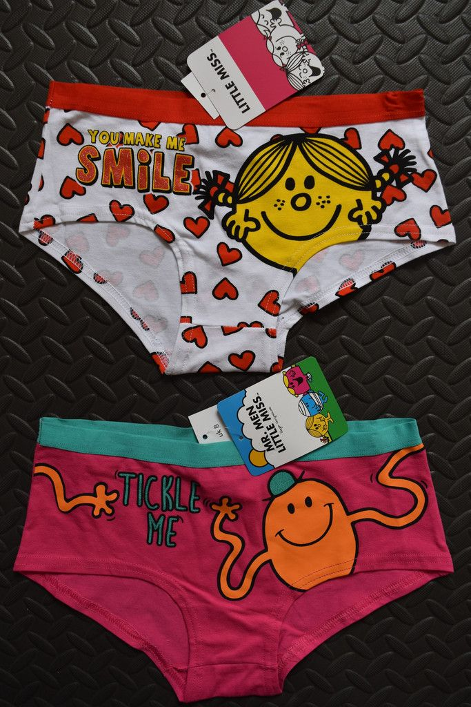 4de2378cdce4 Mr Tickle Little Miss Sunshine Knickers Women's Ladies Briefs Mr Men UK 6 -  20 £8.99 + p&p