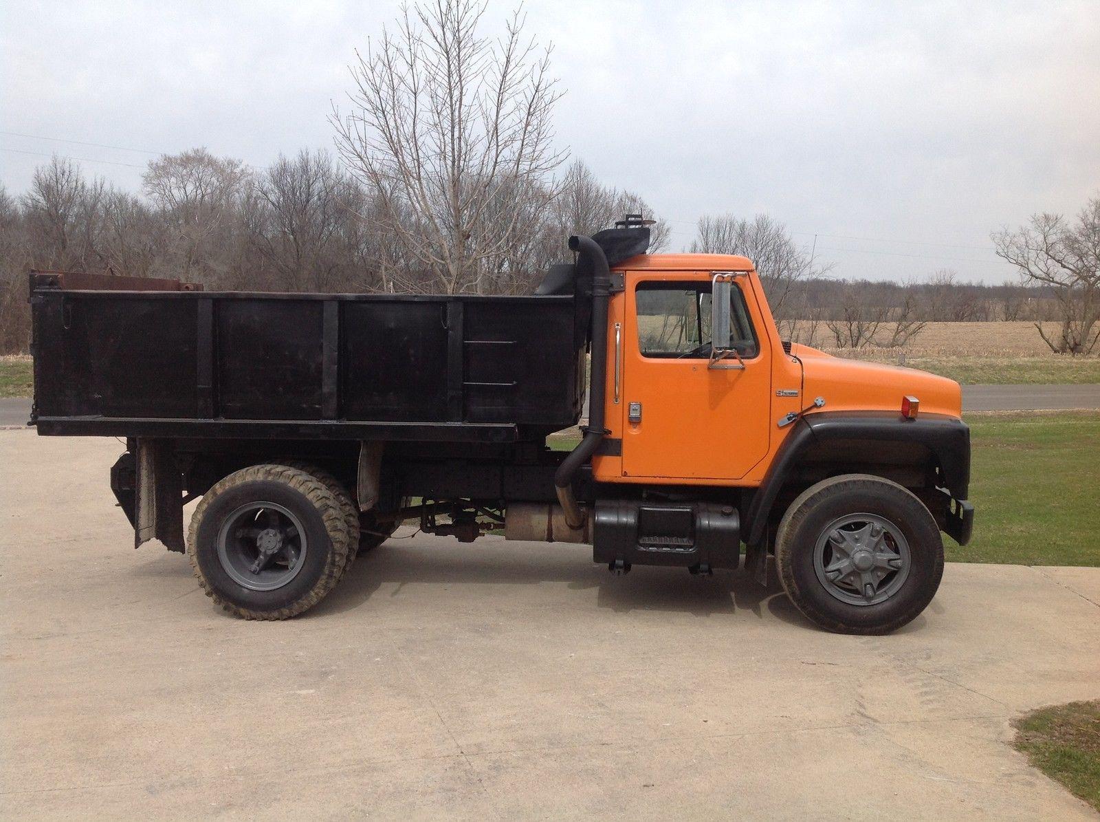 1984 International Dump Truck Model 1954 S Series Ebay Ford