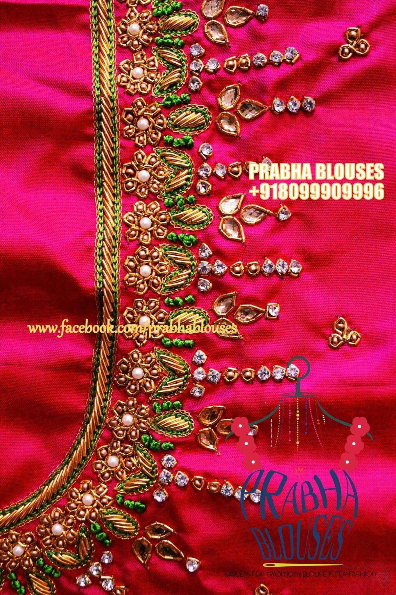 Pin by studio rama on embroidery pinterest blouse designs