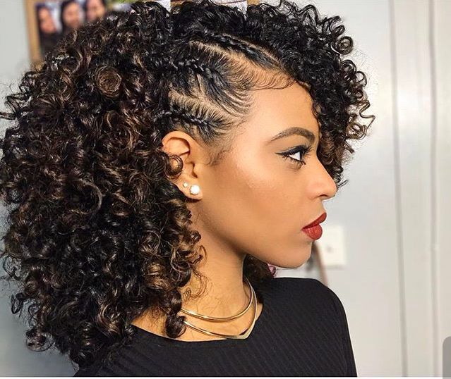Black Curly Hairstyle For Natural Hair