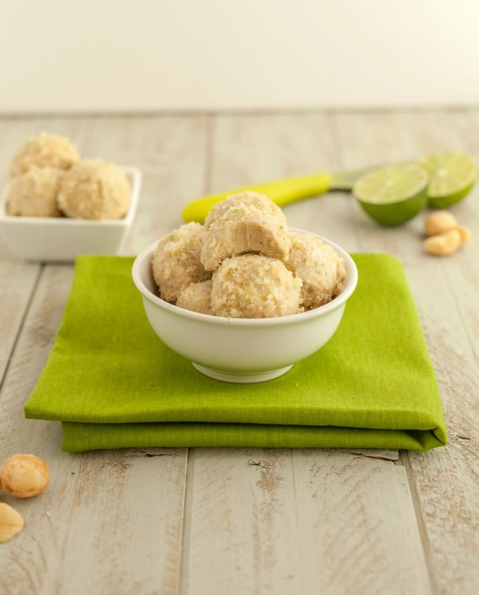No Bake Key lime Pie Bites are paleo, low carb, keto, dairy free, gluten free and vegan. They ...