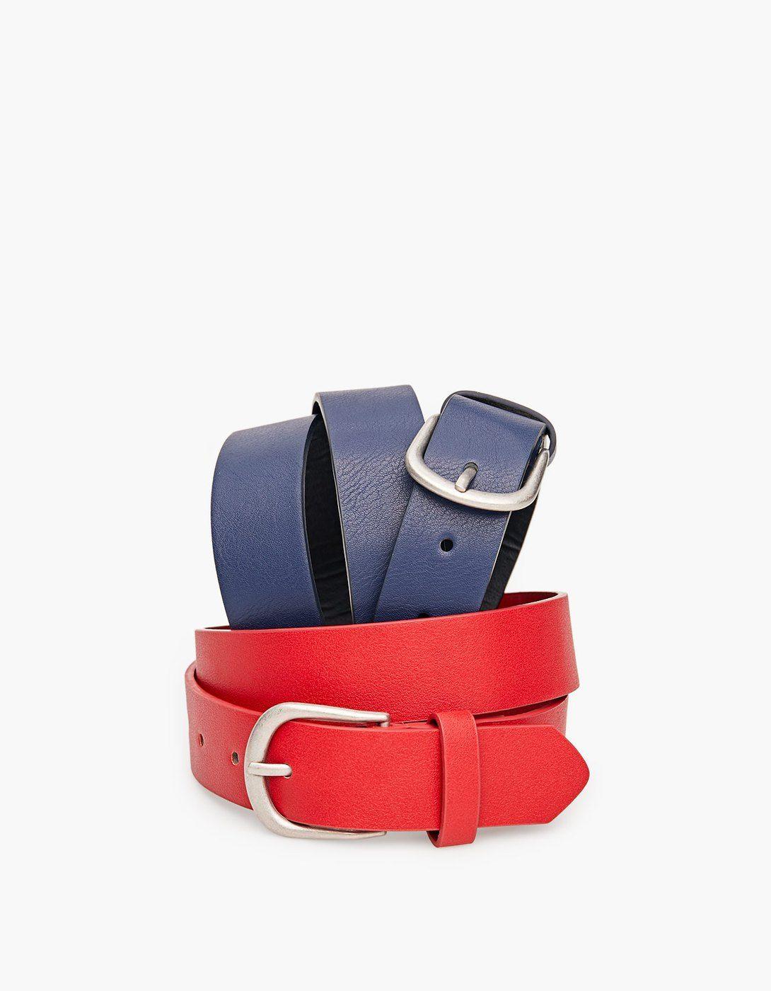 Basic Belt Belts Stradivarius Republic Of Ireland Belt Stradivarius Republic Of Ireland