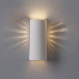 5 Contemporary Cylinder Sconce W Side Light Openings Modern