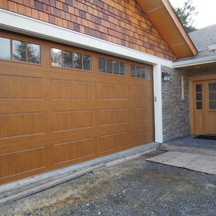 Gallery Garage Door Clopay Gallery Ultragrain Medium Oak