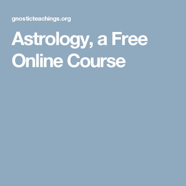 Astrology A Free Online Course Geminiastrology Pinterest