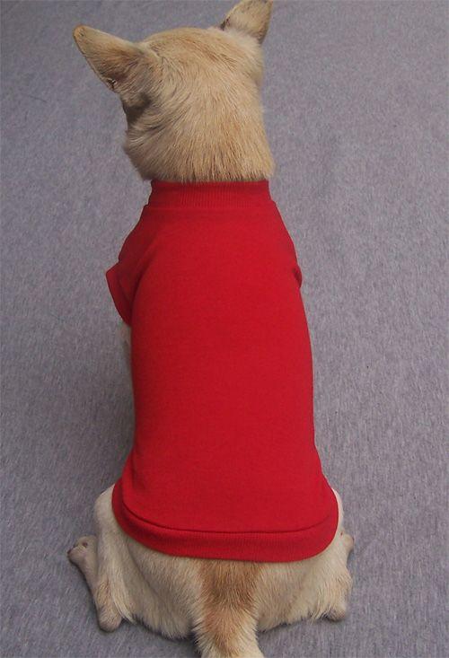 Red Blank Dog T Shirt Dog T Shirts Blank Dogs Dog Dresses Dog