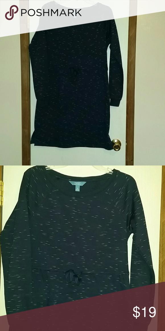 263da38828a Simply Vera Sweater dress. Knee lenght sweater dress with waist-drawn cord  to help flatter shape. EUC. Simply Vera Vera Wang Dresses Midi